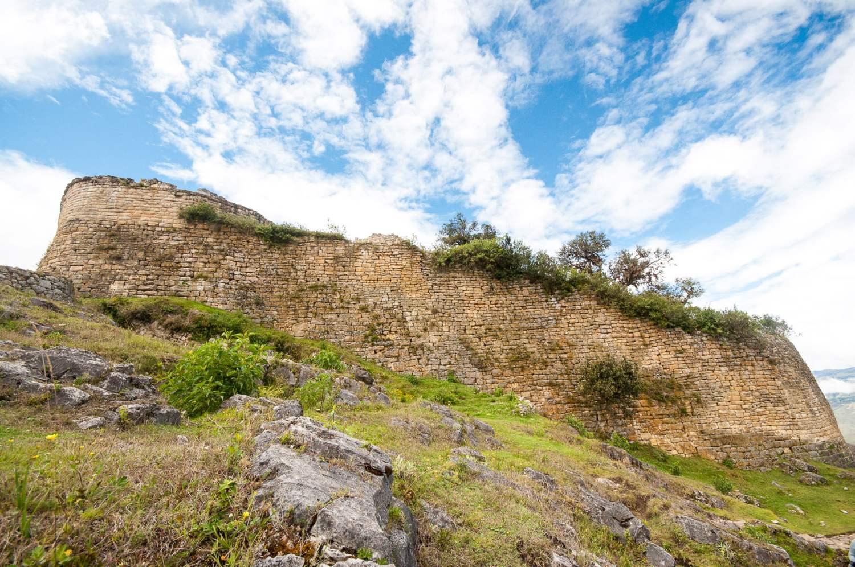 ruines de kuelap près de chachapoyas au perou