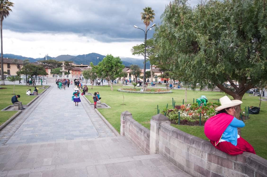 plaza de armas cajamarca