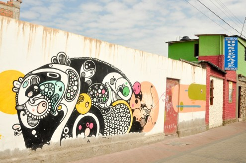 Un brin de street art pour égayer le tout