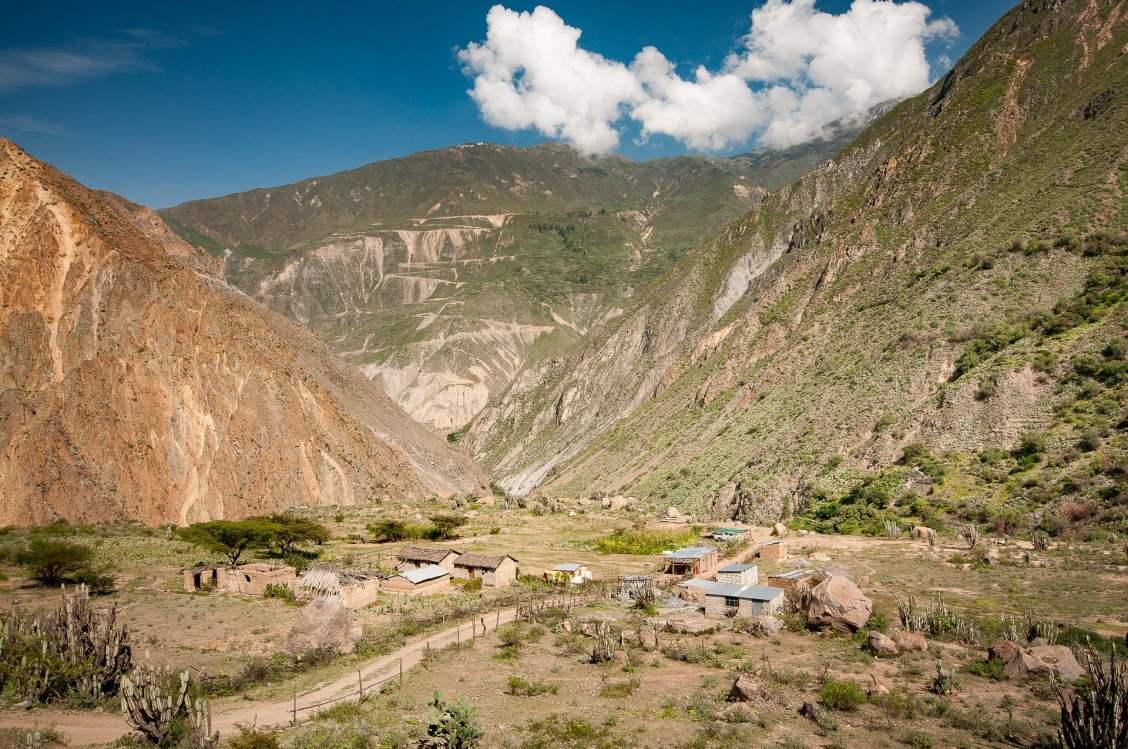 village avec vue