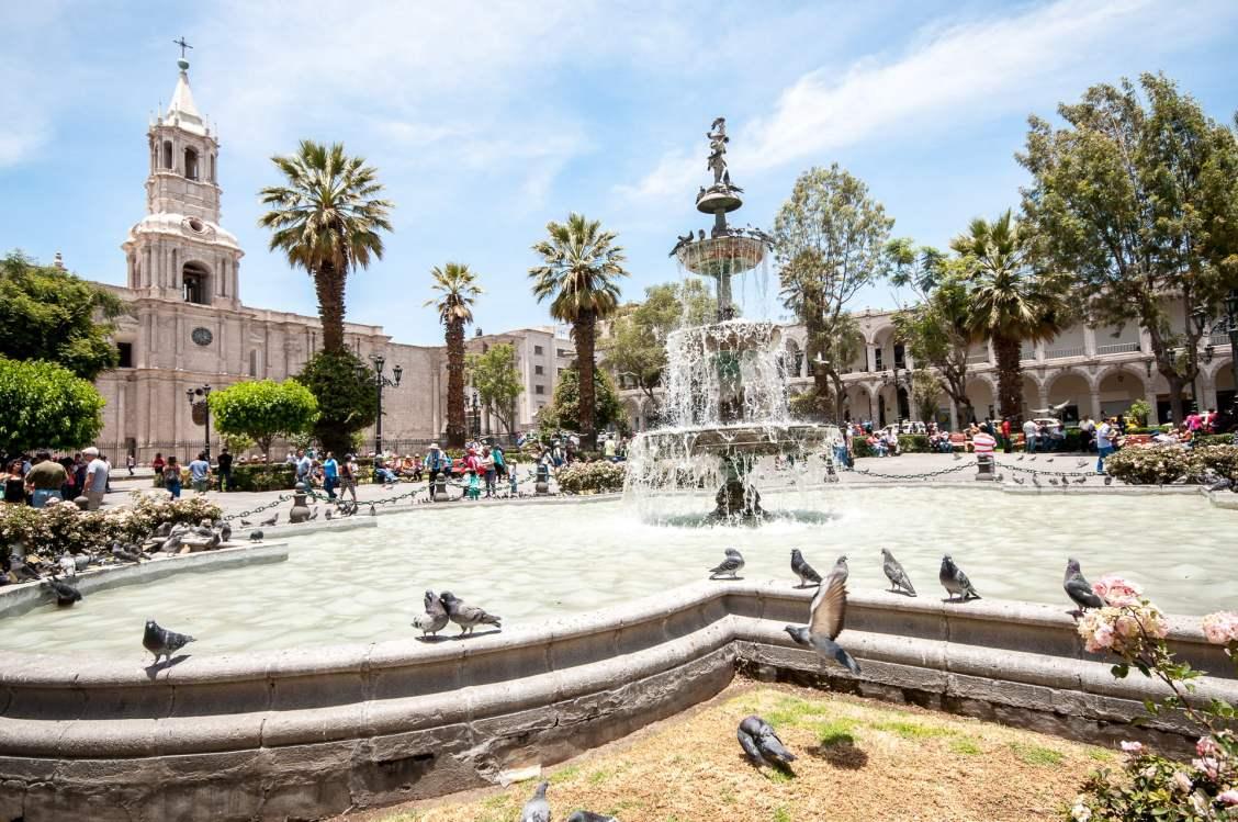 fontaine arequipa centre