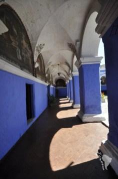 Couvent santa catalina bleu