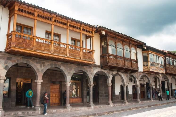balcon, patrimoine, pérou