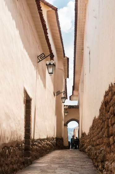 Cusco, rue, tourisme
