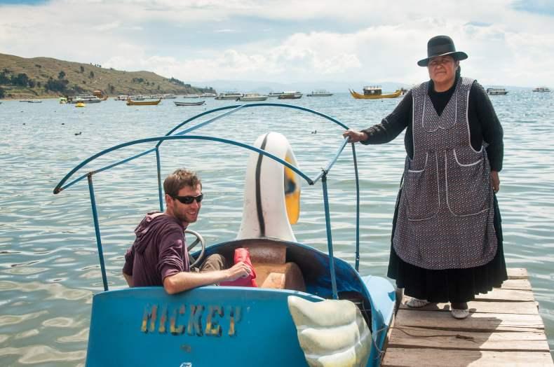 Aventure extrême sur le lac titicaca