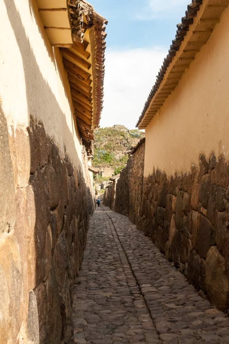 Ruelle Ollantaytambo, Pérou