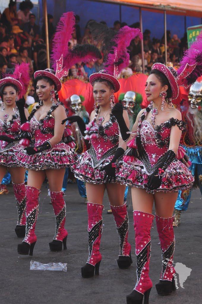 carnaval oruro chola