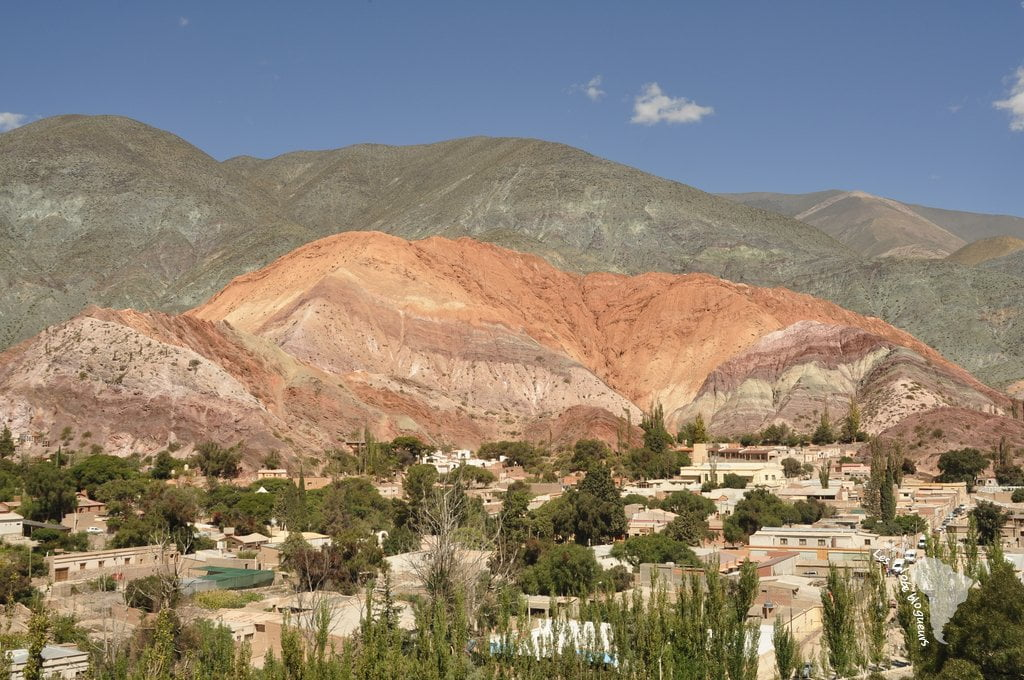 Purmamarca montagne 7 couleurs