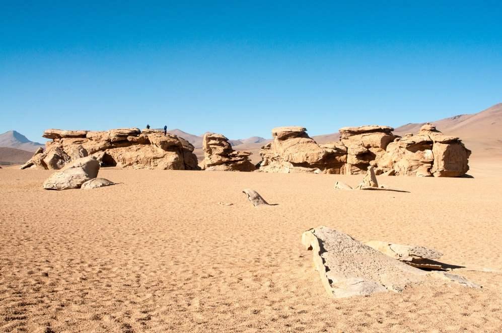 Et on revient au milieu désertique