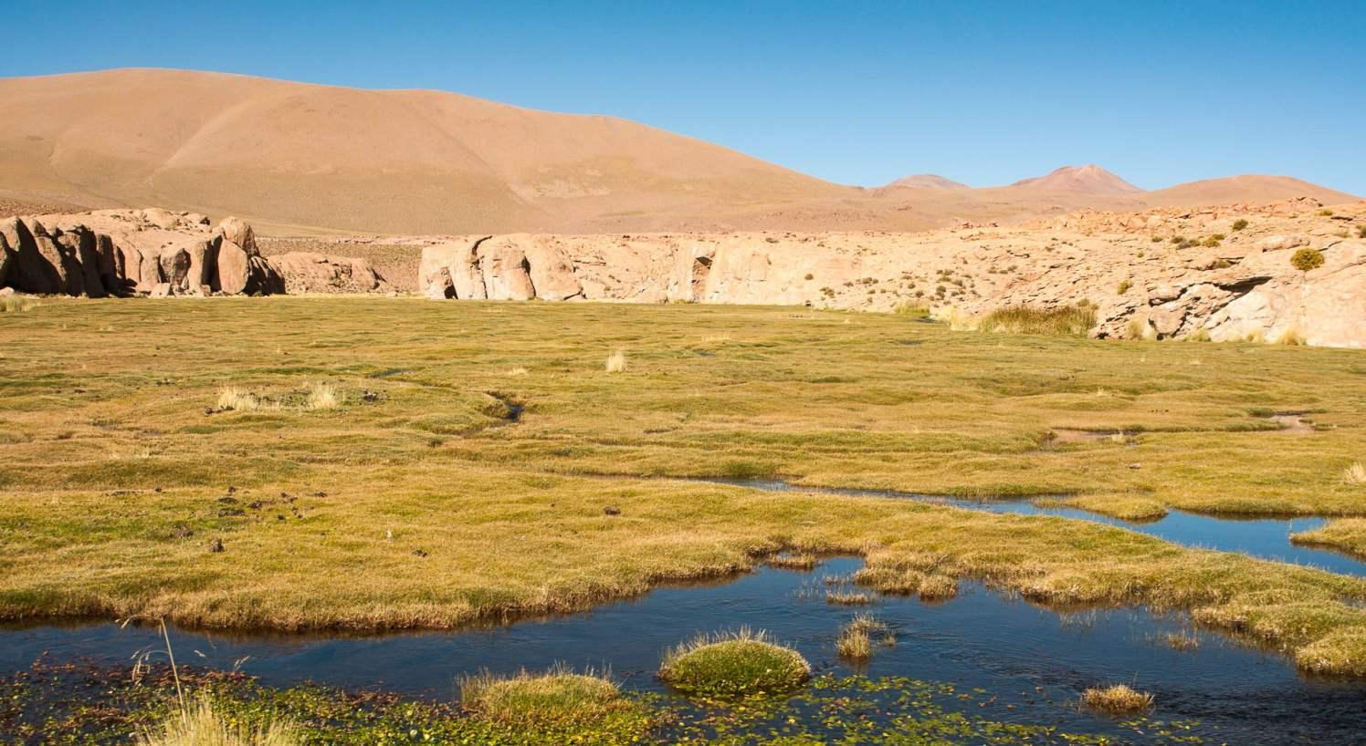 paysages eau désert