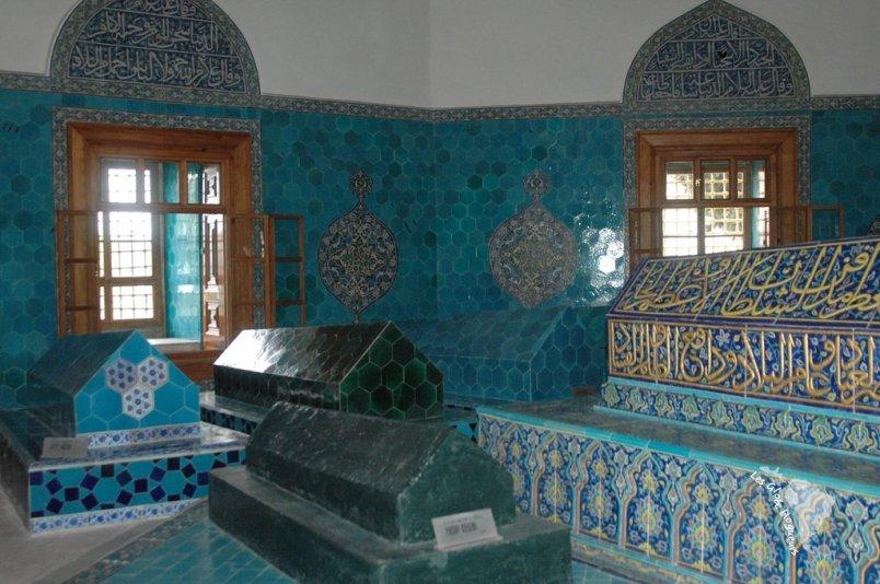 Tombes décorées de faîence, Mausolée vert, Bursa