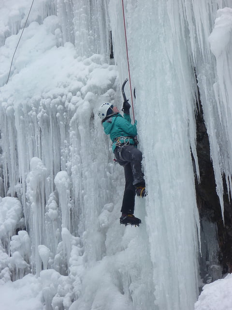 ice climbing amérique