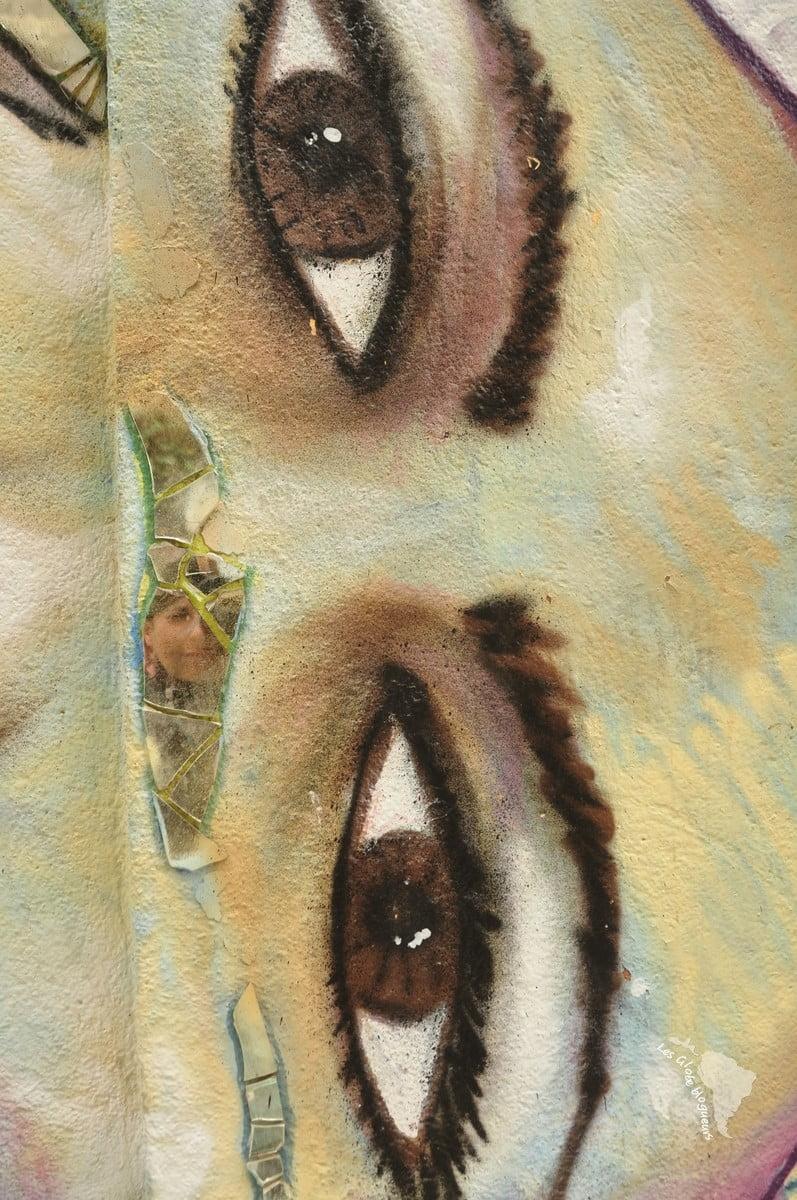 graff miroir autoportrait