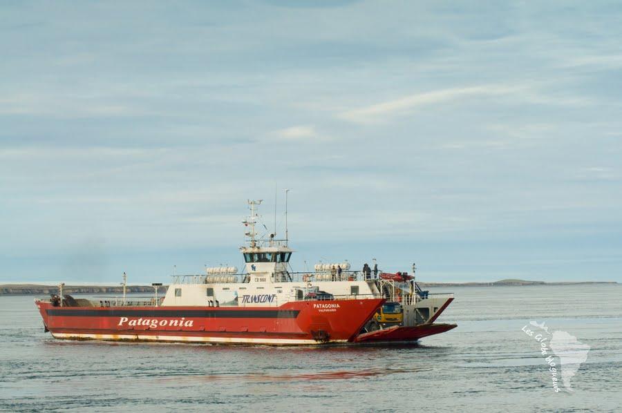 Ferry qui ne fait pas fuir les otaries et les dauphins