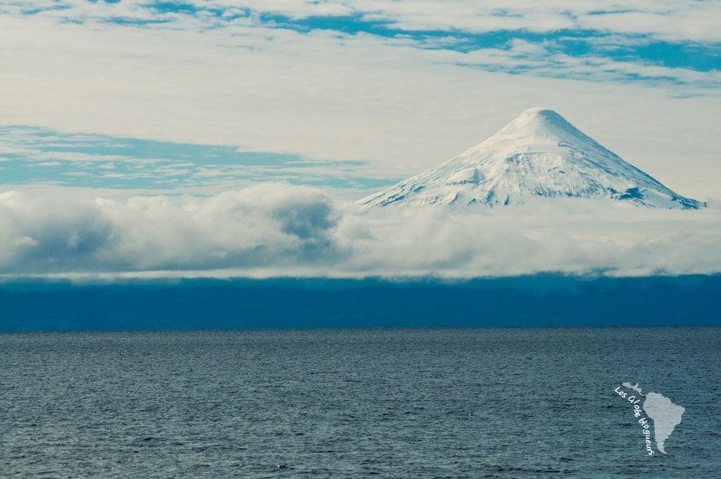 C'est une sublime vue sur le volcan Osorno qui nous attend