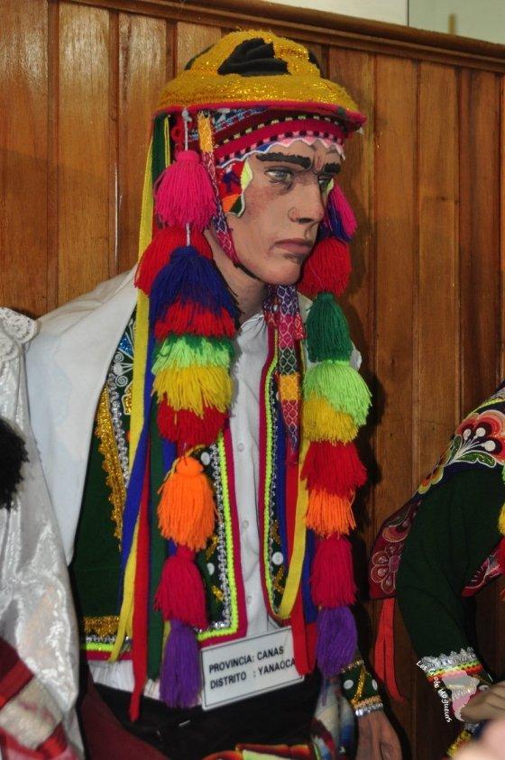 chapeau traditionnel pérou
