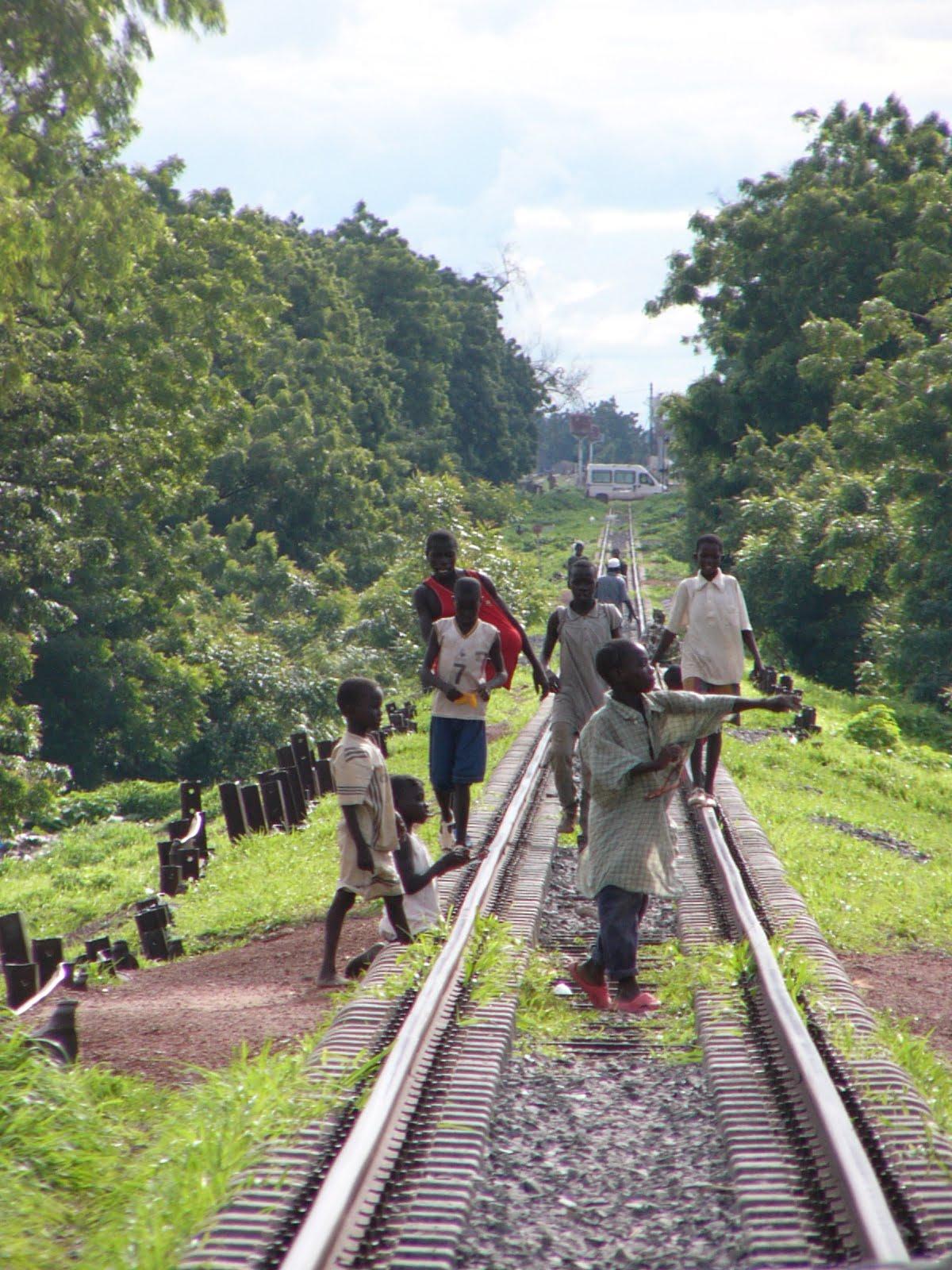 chemin de fer sénégal
