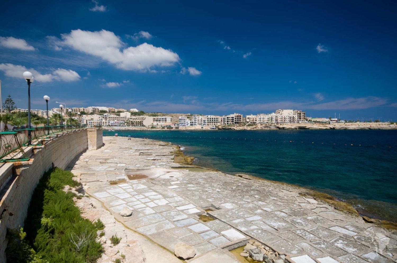 plage sel mer bleu malte