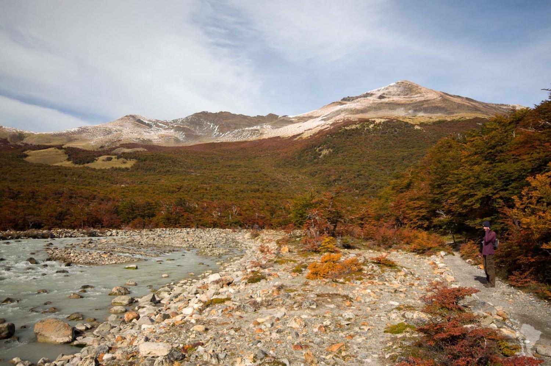 automne rivière lagune chalten