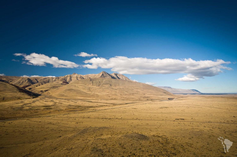 steppe patagonie argentine ciel