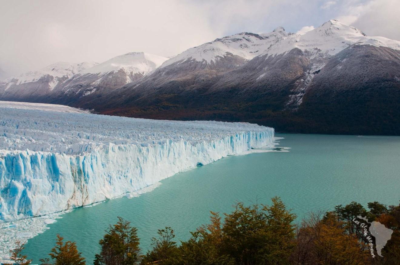 Perito moreno montagne lac patagonie