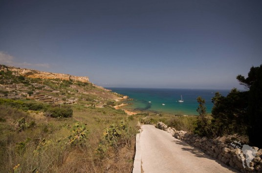 san blas bay plage sable orange gozo