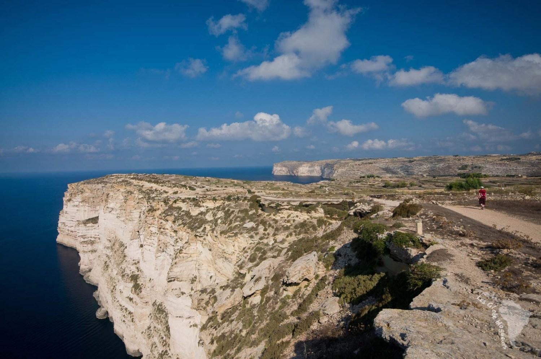chemin falaises randonnée gozo