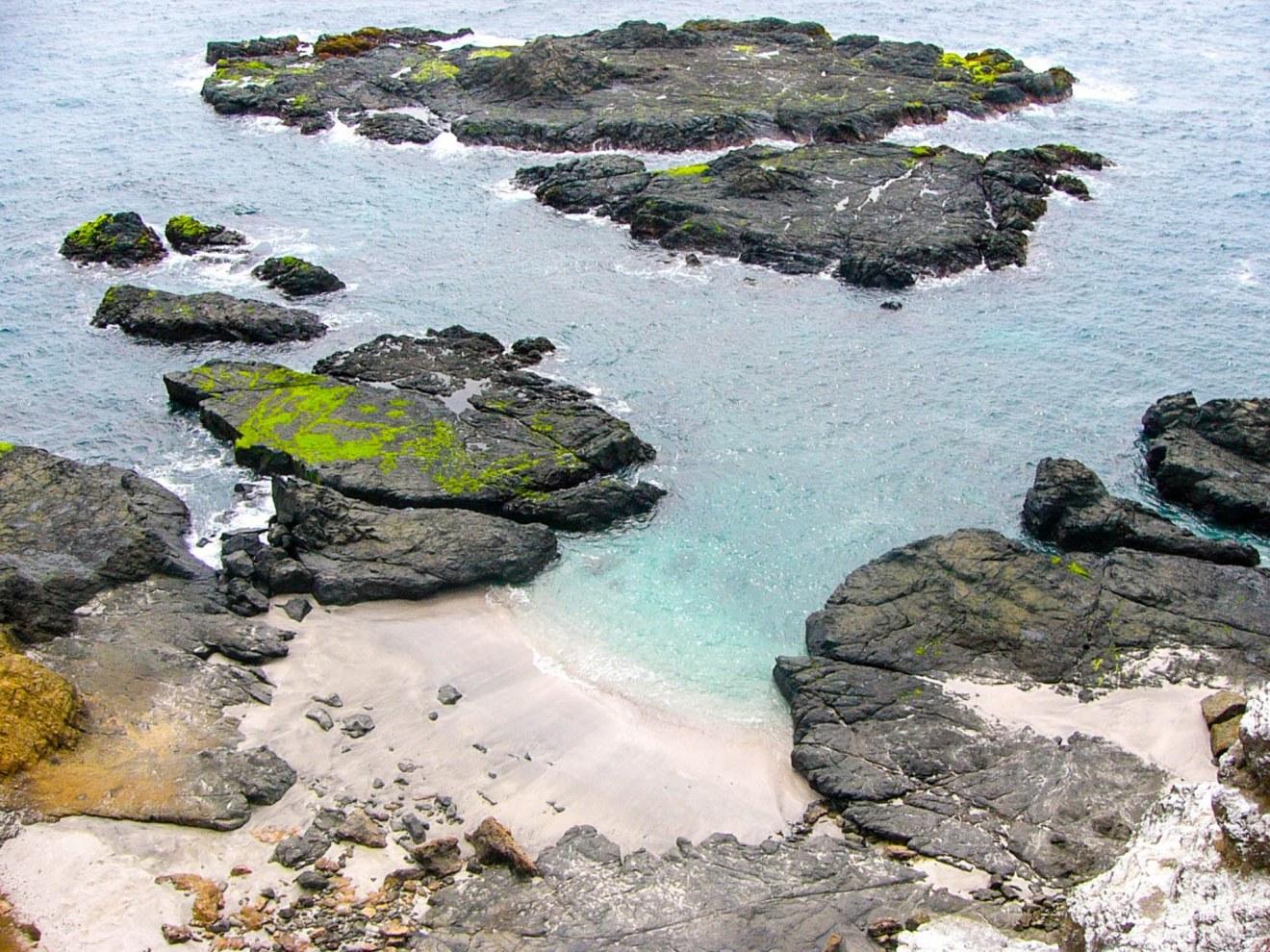 Crique sur l'isla de la plata
