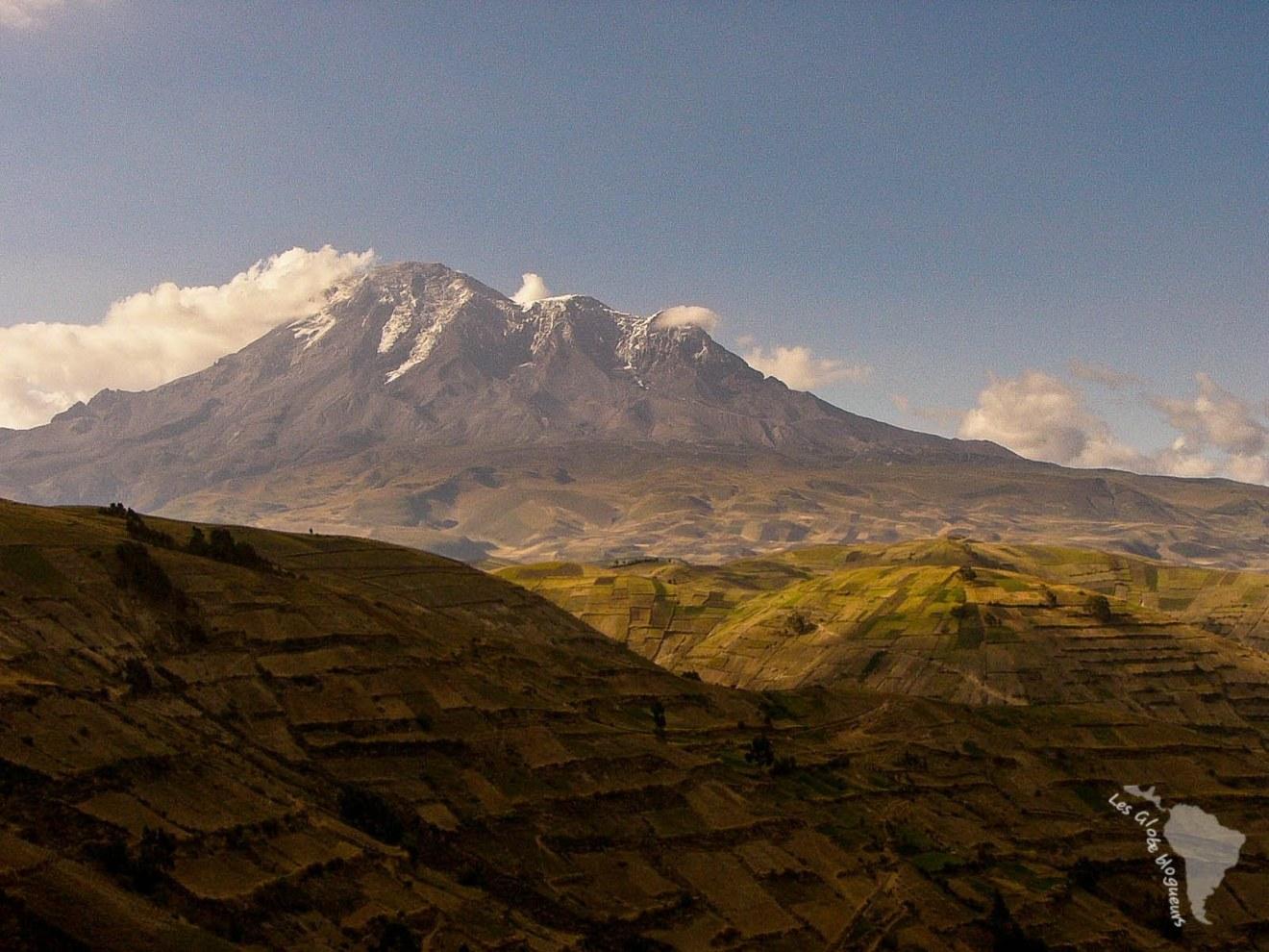 Vue sur le Chimborazo