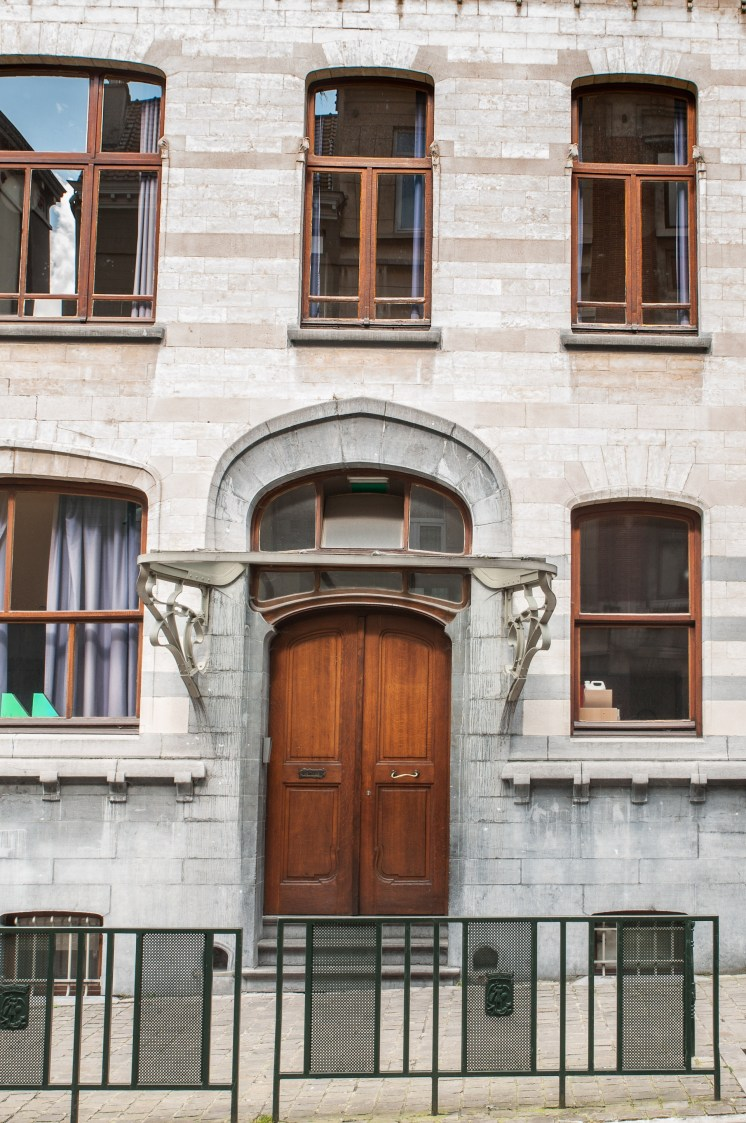 Porte Art nouveau du kindergarden
