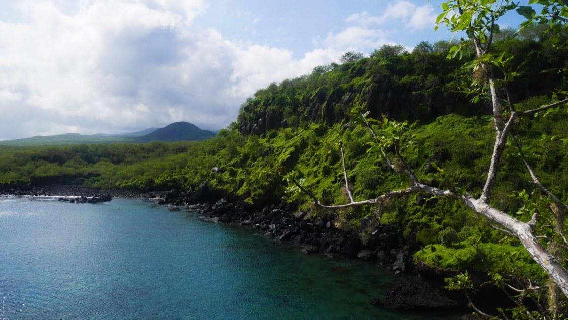 parc galapagos - santa cruz - traverser la frontière