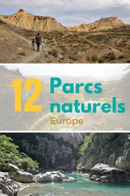 12 parcs naturels europe