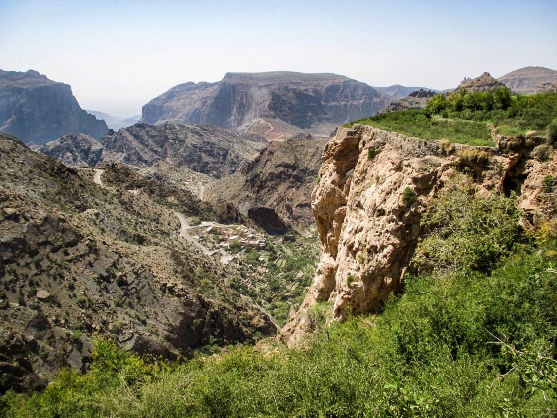 Massif du Djebel Akhdar à Oman