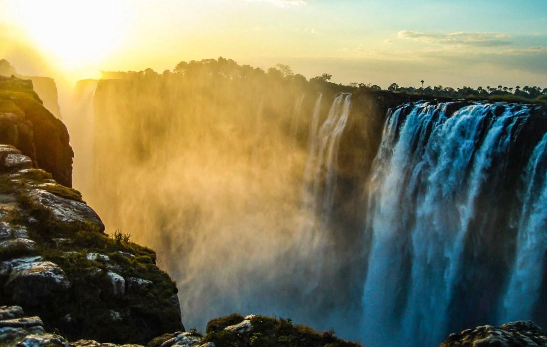 Les plus beaux paysages d'Afrique - Parc national des chutes Victoria au Zimbabwe