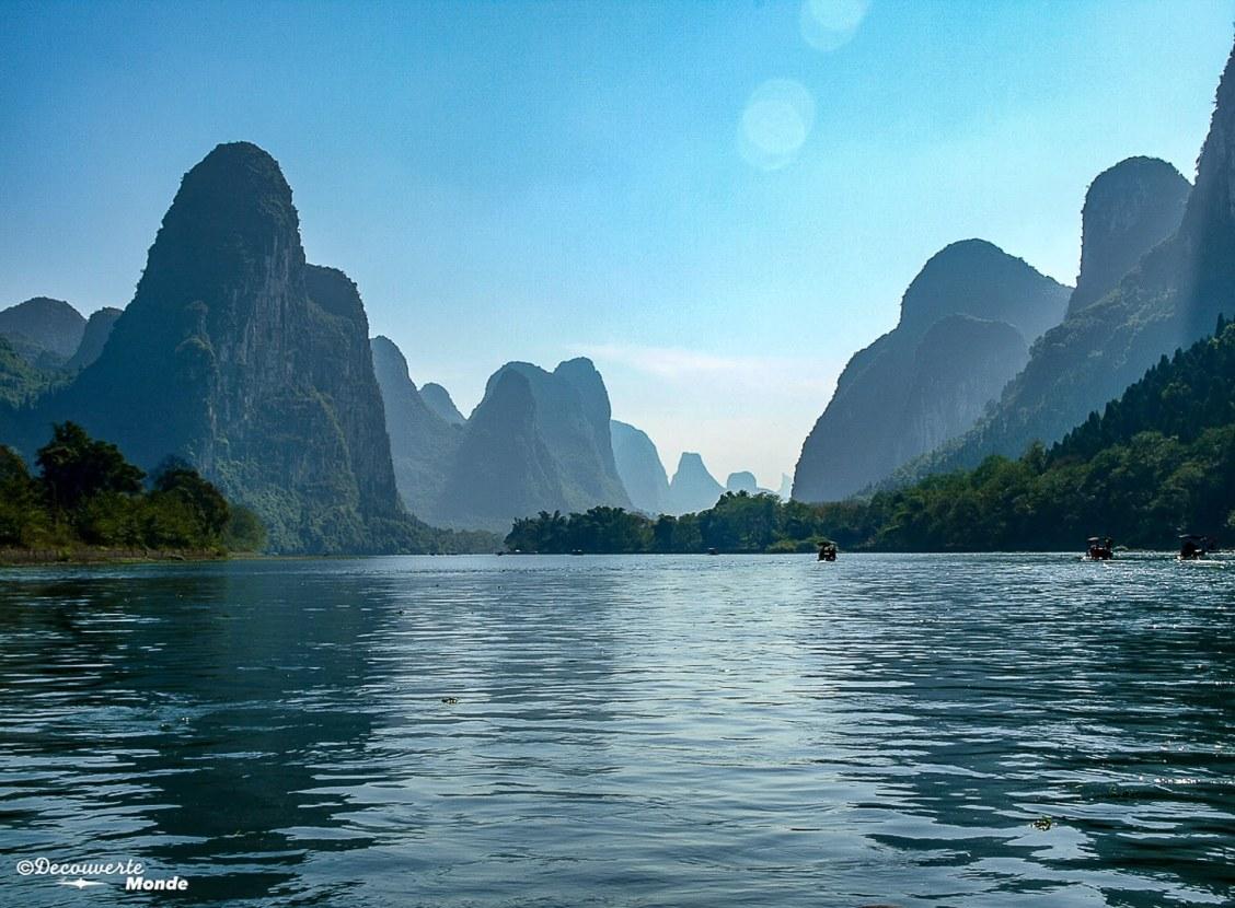 Rivière Li en Chine