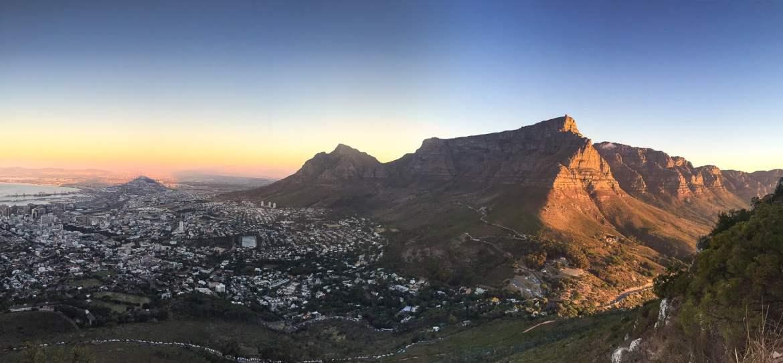 Les plus beaux paysages d'Afrique - parc national table mountain en Afrique du sud