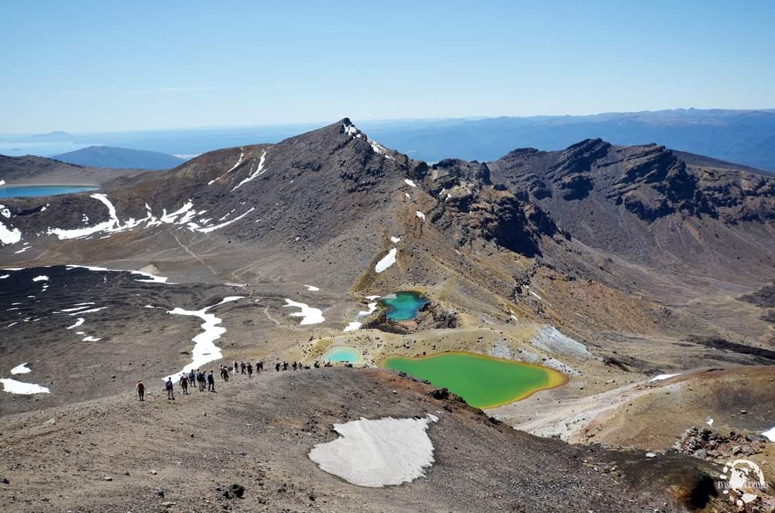 Parc de Tongariro en Nouvelle Zélande - Les plus beaux paysages et parcs naturels d'Océanie