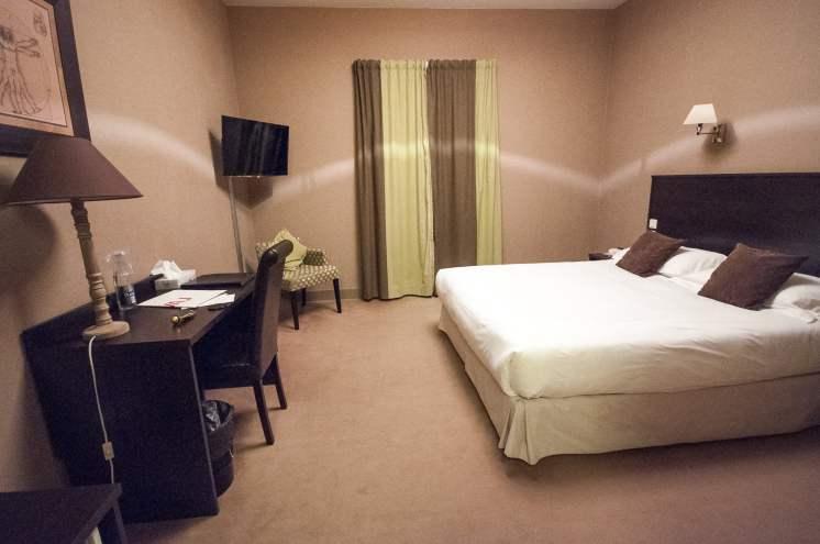 Notre chambre pour la nuit