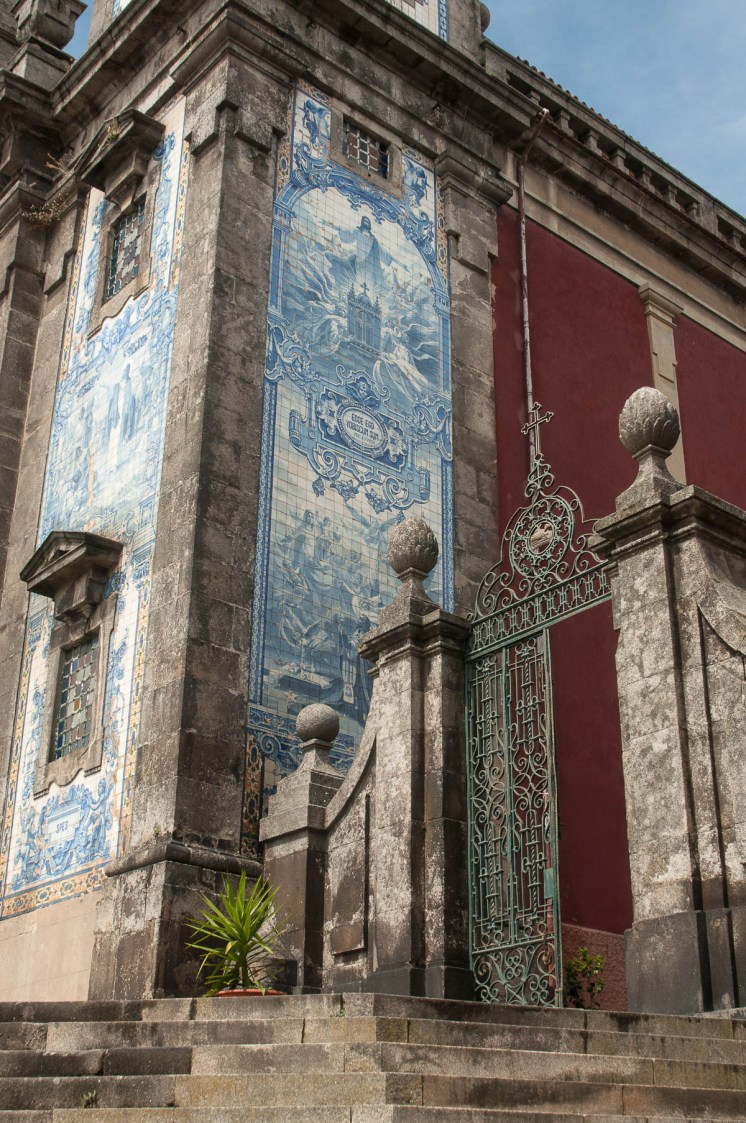 Porto église dos terço détail