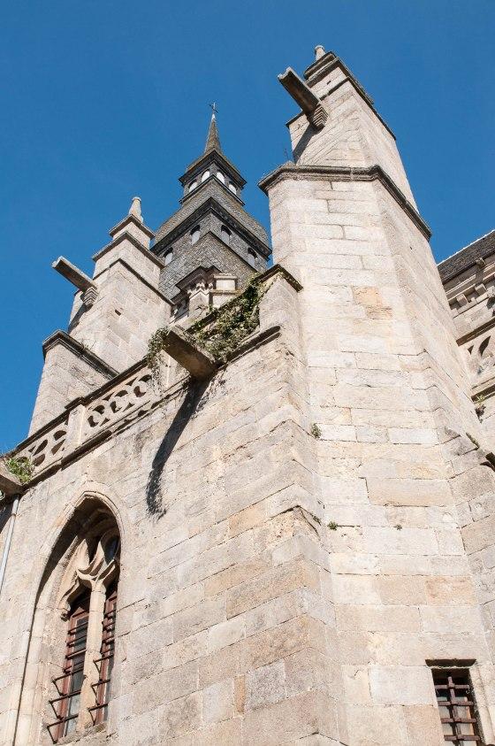 L'impressionnante église Saint Malo, monument phare de Dinan
