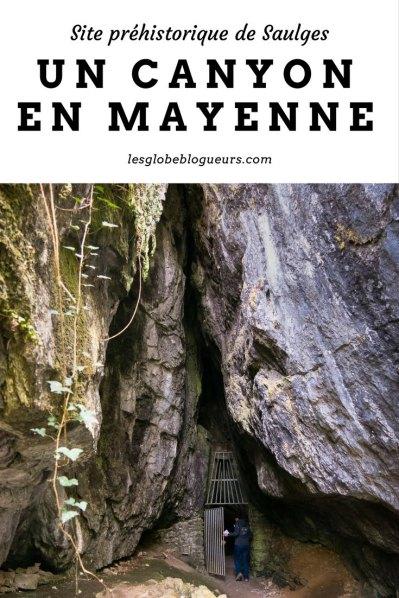 Un Canyon en Mayenne