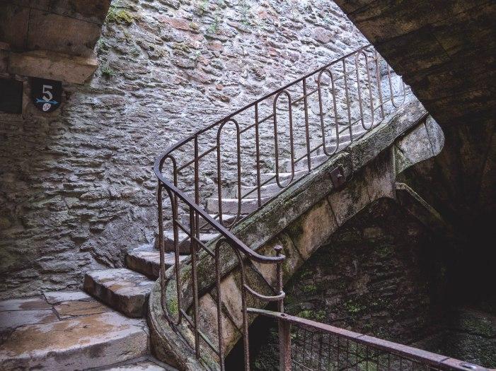 escalier château Bouillon