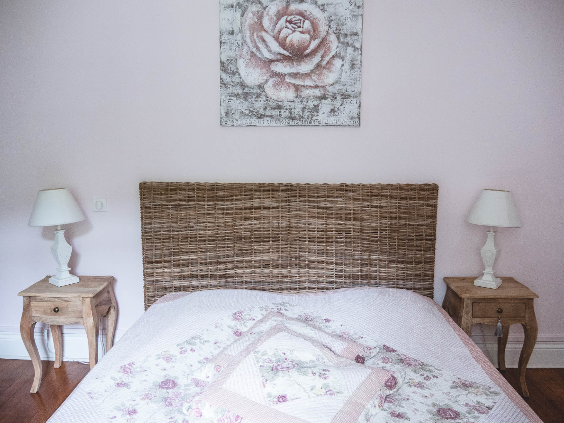 Haybes clos belle rose chambre
