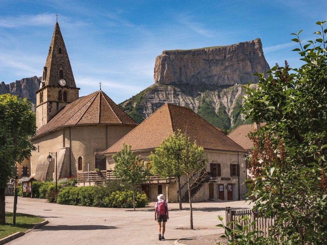 trieves église mont aiguille