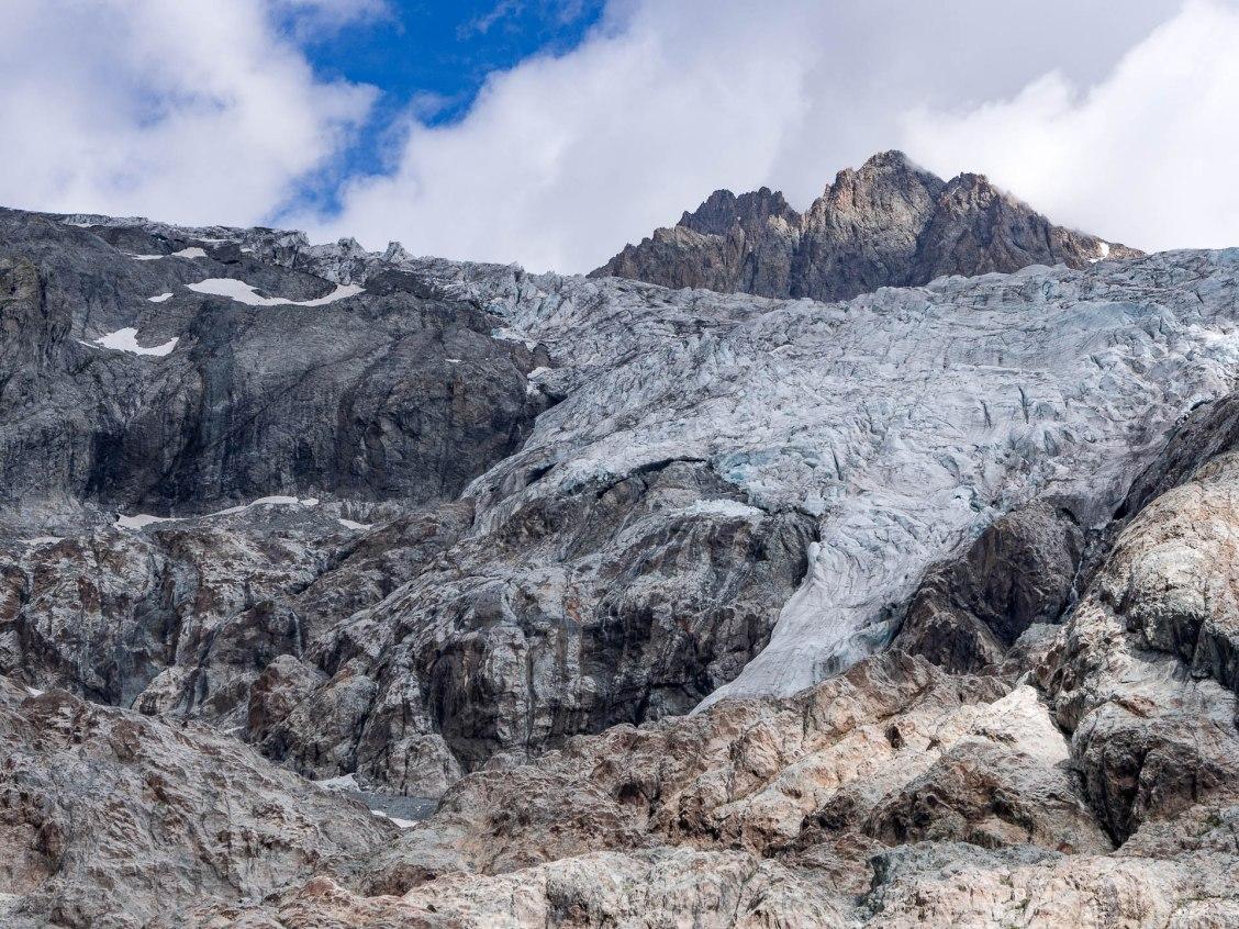 crins glacier blanc