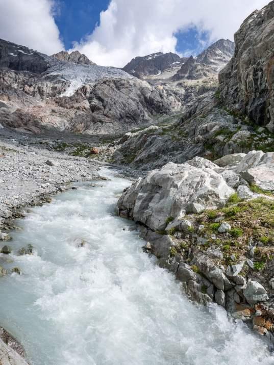 torrent glacier blanc