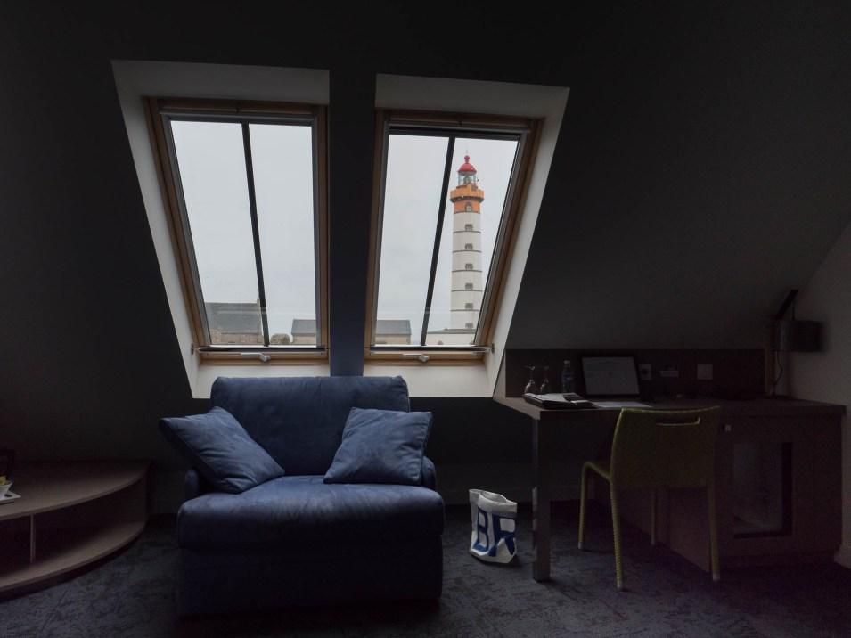 chambre à l'hostellerie de la pointe saint mathieu