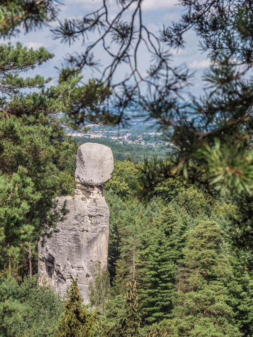 Hruba skala paradis tchèque