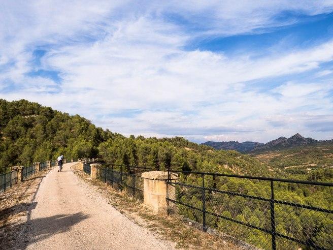 Voie verte entre Horta san joan et benifallet - Catalogne