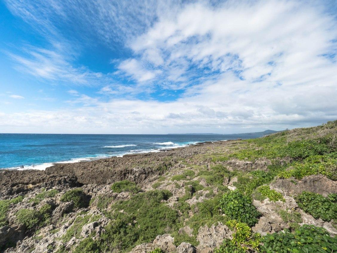 Eluanbi plage corail panorama